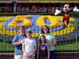 Disney's 50th - Me, Sydney, Hailey, Kelli