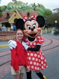 Hailey & her favorite Minnie