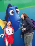 A kiss for Dory