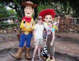 Woody, Jessie, Sydney & Hailey