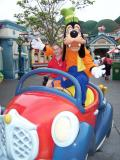 Goofy driver...