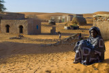 Little village in the desert...