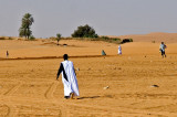 A crowded desert...