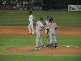 Fort Myers makes a pitching change