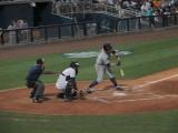 Joe Benson strikes out swinging