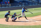 Francisco Pena flies out to right