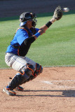 Francisco Pena behind the plate