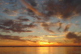 Sunset over Tampa Bay