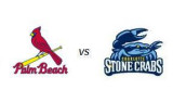Charlotte Stone Crabs vs Palm Beach Cardinals (6/27/10)