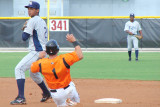 Brian Roberts out at second