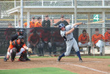 Justin O'Conner at the plate