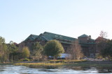 Wilderness Lodge from Bay Lake