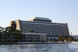 Contemporary Resort from Bay Lake