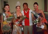 Perlas beauties with Mayor Boni, Clarisse 1st, Hannah Perlas ng Kaliguan and Rhea, 2nd