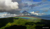 Rainbow connection (aerial shot )