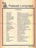 How to speak Palauan