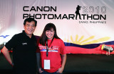 Me and Canon Philippines President and CEO Alan Chng