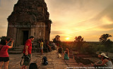 Sunset in Pre Rup