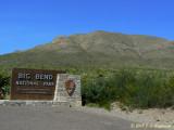Big Bend NP entrance
