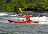 kayaking the Mountain Fork, OK