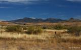 Davis Mtns. across the grasslands