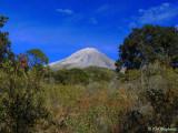 view of Volcan de Colima