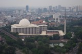Istiqlal Mosque - National Mosque from Top of Monas.jpg