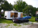 Trial Run for R/T into our 18' x 7 1/2' Trailer