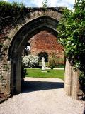 Wells Garden Statue