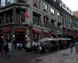 Outdoor Cafe, Old Montreal