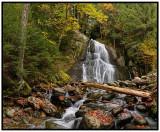 Viewing Moss Glen Falls