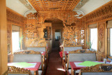Interior of Mongolian Dining Car