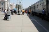 Ulan Bator Station Platform