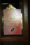 Sign at Madang Beach Resort
