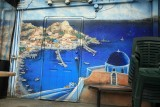 Greek Taverna Mural
