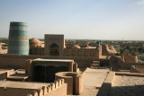 View of Kalta Minor and Mohammed Amin Khan Madrassa from Harem Tower