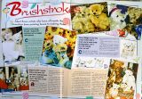 My handmade teddy bears, photos and artwork featured in Teddy Bear Times magazine