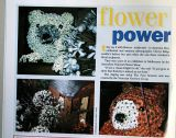 My photos of floral displays featured in an international Teddy Bear magazine