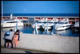 Le port, la plage