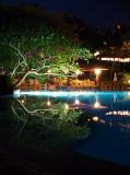 Pool side at Lagoon Resort