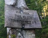 Goat Creek Trail Project, 2006
