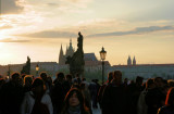 Sunset on the Charles Bridge