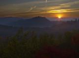 Sunrise at Auxier Ridge