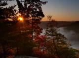 Sunrise on Cloudsplitter