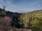 Swift Camp Creek Overlook (in February!)