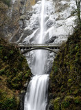 Bridge at Multnomah Falls