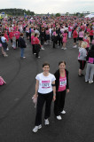 Kelly and Hilary Race for Life