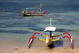 Boats in Sanur