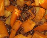 Sweet Potatoes, Apples & Pecans