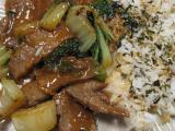 Stir Fried Bulgogi With Bok Choy